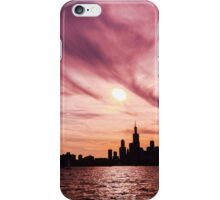Sunset Silhouette iPhone Case/Skin