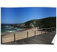 Costa Azul beach Poster