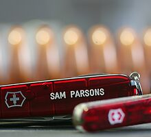 Swiss Army Knives by Sam  Parsons