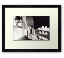 My song Framed Print