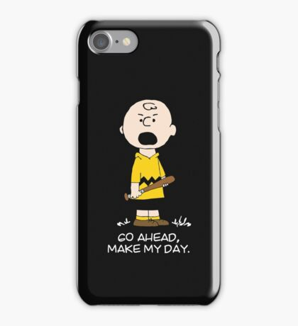 Charlie Make my day iPhone Case/Skin