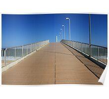 Costa Azul Pier Poster