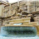 Foutain in Rome by rocperk