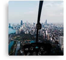 Helicopter Views Canvas Print