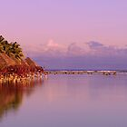 Sunset on the lagoon by JennyLee