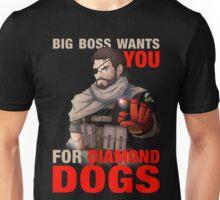 Big Boss wants you! Unisex T-Shirt