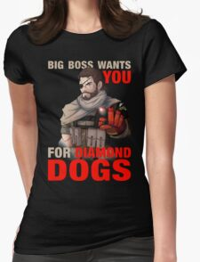 Big Boss wants you! Womens Fitted T-Shirt