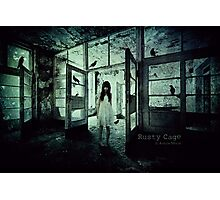 Rusty Cage Photographic Print