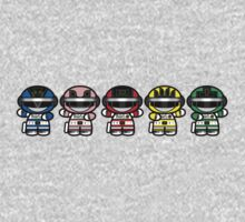 Chibi-Fi Bioman One Piece - Short Sleeve