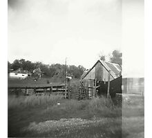 the barn. Photographic Print