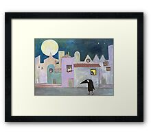city of cats Framed Print