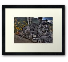 Durango & Silverton Narrow Gauge Train Framed Print
