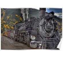 Durango & Silverton Narrow Gauge Train Poster