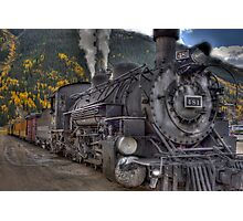 Durango & Silverton Narrow Gauge Train Photographic Print