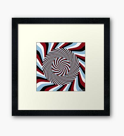 Dark Hypnosis (Bhakti) Framed Print