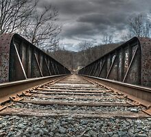 Railroad Tracks II by Matthew Hutzell