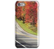 Leaf Peeping Time iPhone Case/Skin