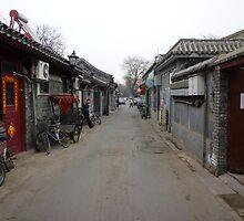 Beijing:Nan Luo Gu Lane by Phillip Wayne