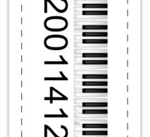 Music stats Sticker