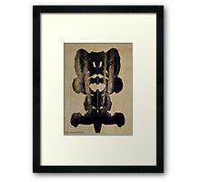 INKBLOT  # 032 Framed Print