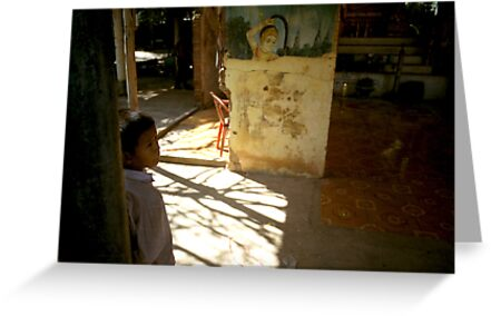 the present, oudong, cambodia by tiro