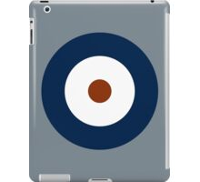 Royal Air Force - Historical Roundel Type A 1937 - 1942 iPad Case/Skin