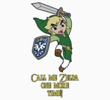 Call me Zelda one more time! Kids Clothes