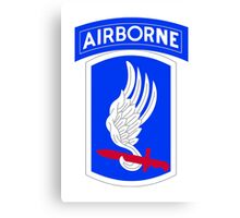 173rd Airborne Brigade Combat Team (US Army) Canvas Print