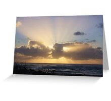Breaking Through Greeting Card