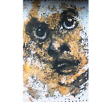Face, Bernard Lacoque-90 Photographic Print