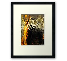 INK ABSTRACT # 064 Framed Print