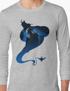 The Genie and the Moon  Long Sleeve T-Shirt