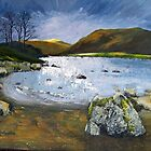 Storm Approaching Ullswater by Sue Nichol