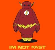I'm Not Fast Kids Tee