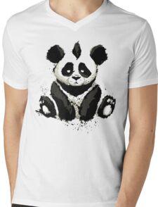 Cool Panda  Mens V-Neck T-Shirt