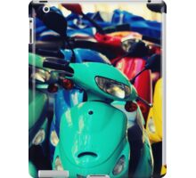 Green Scooter iPad Case/Skin