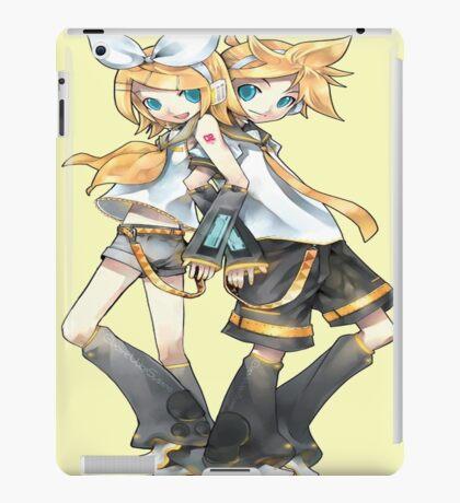 Vocaloid - Rin And Len Kagamine iPad Case/Skin