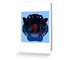 The Cave of Wonders  Greeting Card