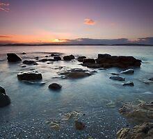 Taroona Beach Sunrise #5 by Chris Cobern
