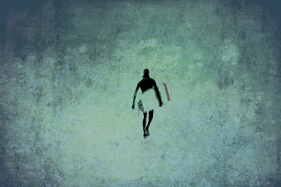 Surfer by Anne Staub
