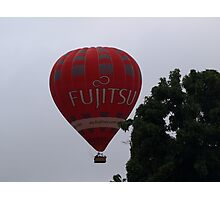 Balloon over my suburb. Photographic Print