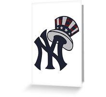 New York Yankees 1 Greeting Card