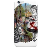 Cats Are Tyrants (color version) iPhone Case/Skin