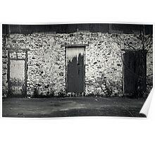 three doors, no entry Poster