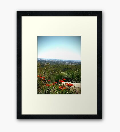Summer Afternoon in the Hills Framed Print