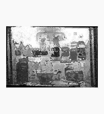 Iced Cube Frige Photographic Print
