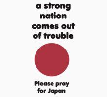 Pray for Japan by Olga