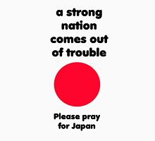 Pray for Japan Unisex T-Shirt