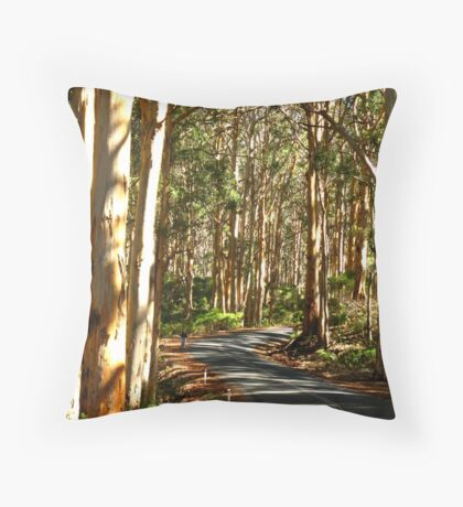 Lost Forest Throw Pillow