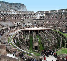 Roman Coliseum - Flavian Amphitheatre by jules572